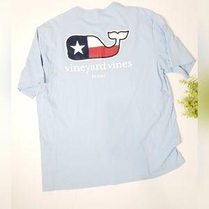 VINEYARD VINES Texas whale tshirt xl